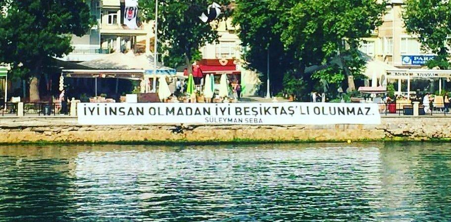 İyi insan olmadan iyi Beşiktaşlı olunmaz! #SüleymanSEBA https://t.co/U...