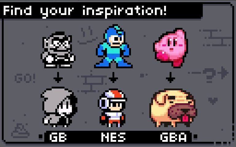 It's Easy to Rip and Copy Sprites. But you learn so much more from Observing what inspires you, and turn it into your own thing. #pixelart <br>http://pic.twitter.com/hTBDuleUEB