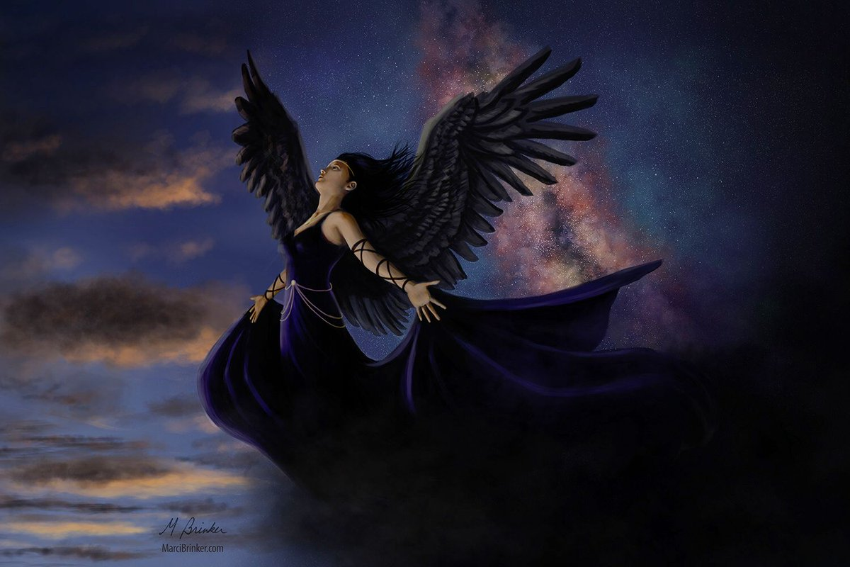 #NYX is the #goddess of the #night, one of the primordial #gods who emerged as the #dawn of #creation. <br>http://pic.twitter.com/Pl21ZrQSUK