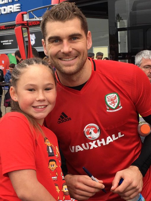 Massive Happy Birthday to our Sam Vokes    Luv Sophie