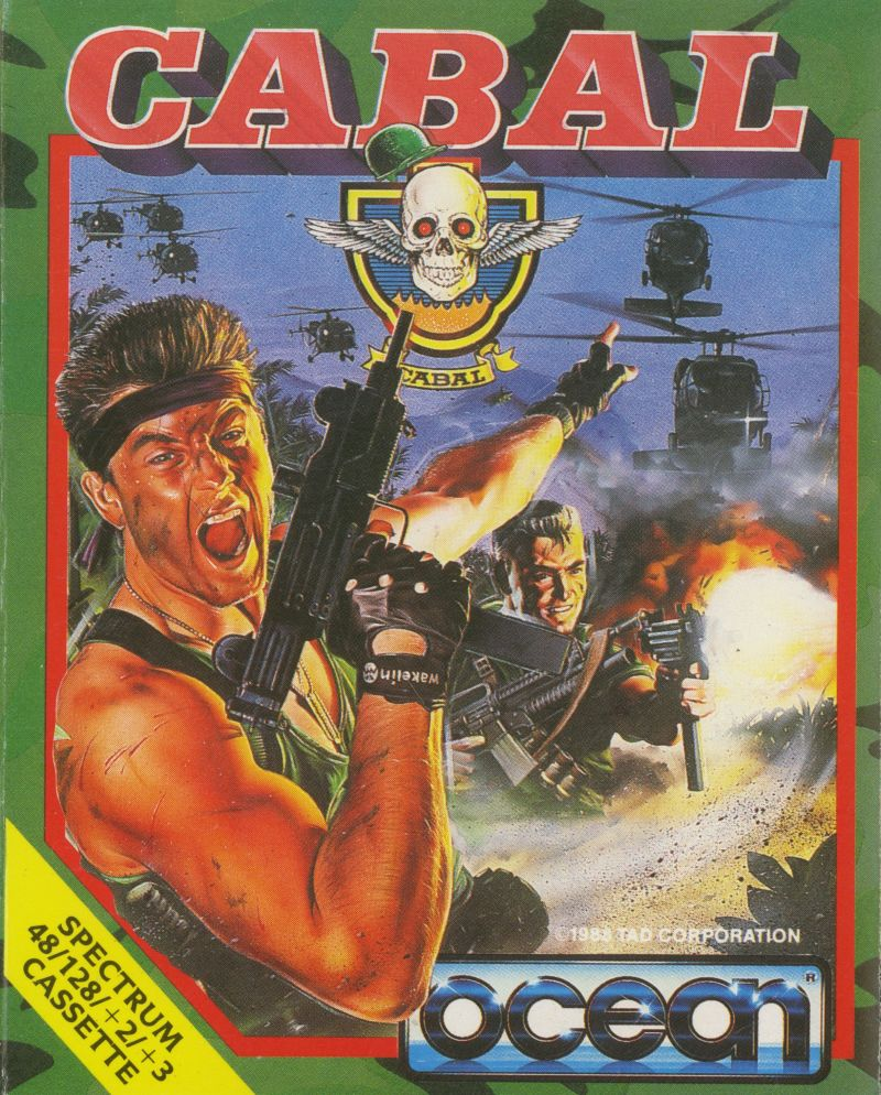 SPECTRUM SATURDAY: CABAL In 1989 one Commando took on a whole army... 8-Bit action hero style! #retrogaming #arcade #ZXSpectrum #gaming<br>http://pic.twitter.com/tQ6mlcZPNG