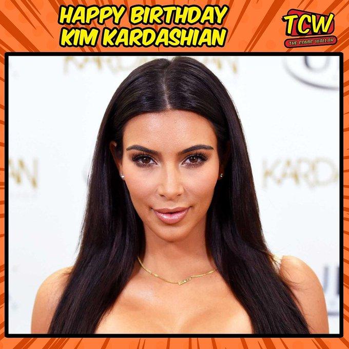 Happy Birthday Kim Kardashian.