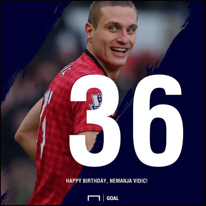 Happy birthday, Nemanja Vidic!