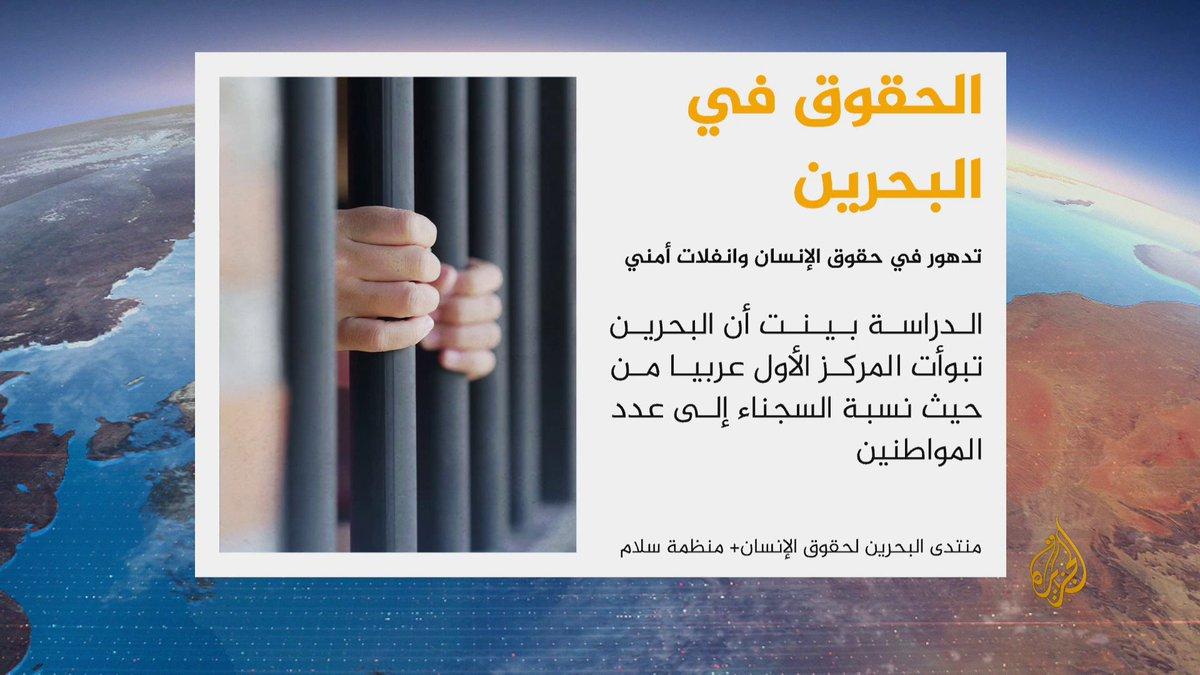 #البحرين تحتل المركز الأول عربيا من حيث...