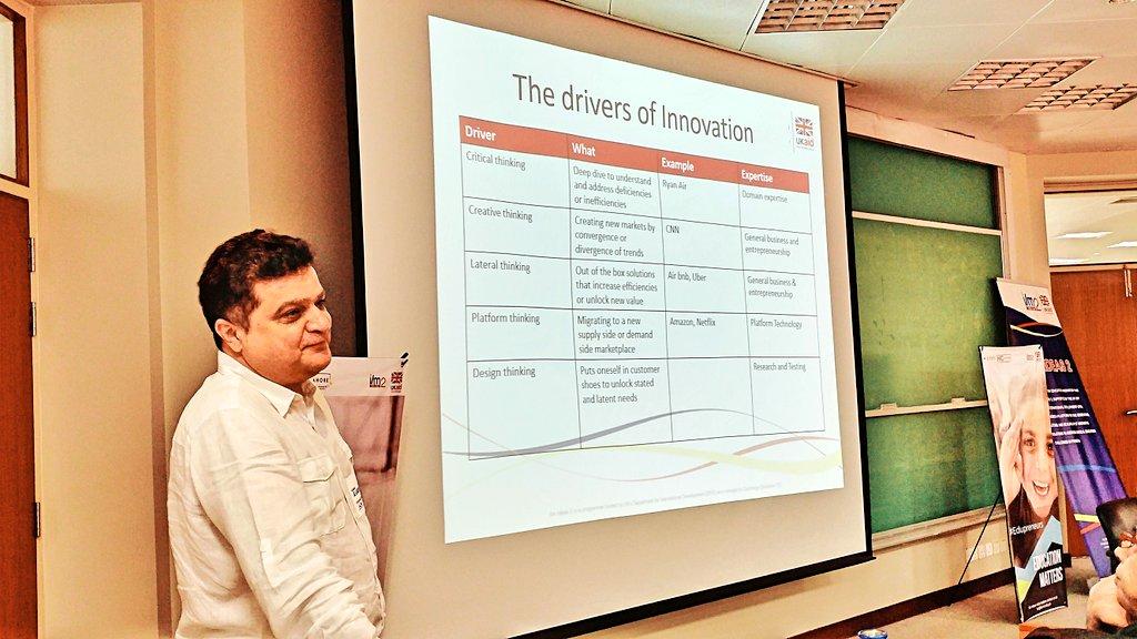 Zulfiqar discussing drivers of #Innovation for #BOP #startups at #Educational #Startup #Workshop #SocEnt #SocialImpact #Entrepreneurship<br>http://pic.twitter.com/1nVzdbNsU8