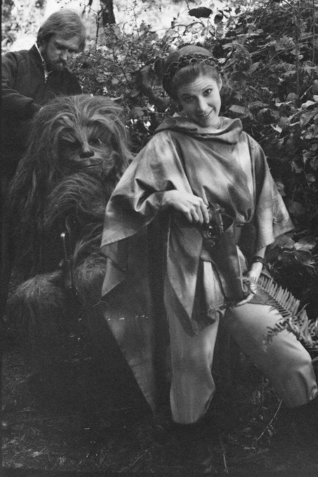 happy birthday Carrie fisher may the force be with you