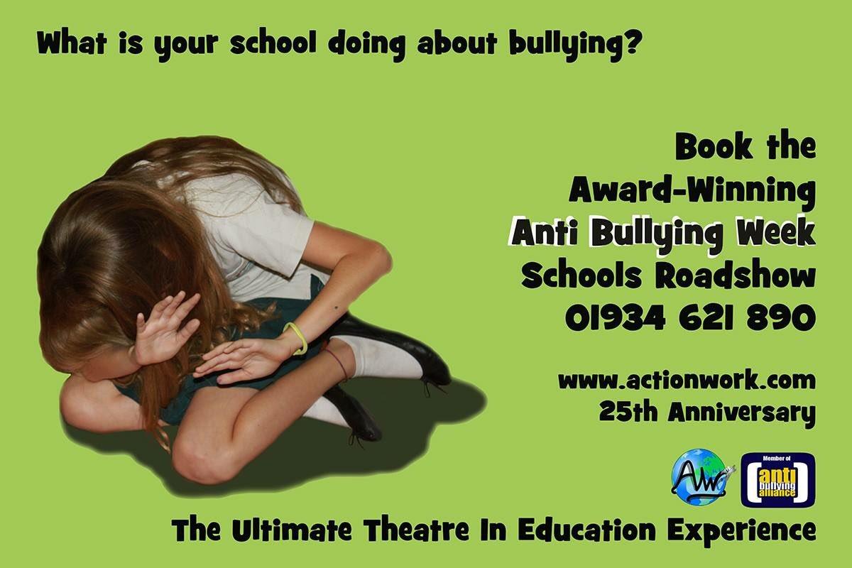 Last 4 dates left for our November #AntiBullyingWeek #Schools Roadshow #ks1 #ks2 #ks3 #primary #secondary #bullying #cyberbullying #positive<br>http://pic.twitter.com/kHqbU7Ikcv