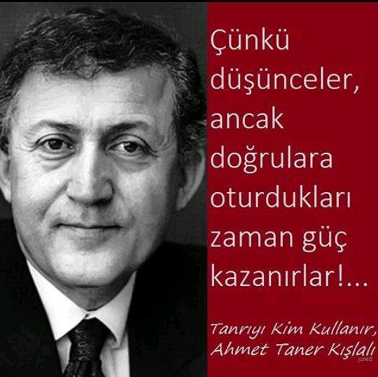 #AhmetTanerKışlalı saygıyla anıyoruz htt...