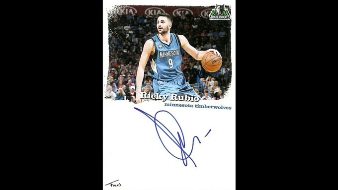 Happy Birthday to Ricky Rubio of who turns 27 today. Enjoy your day