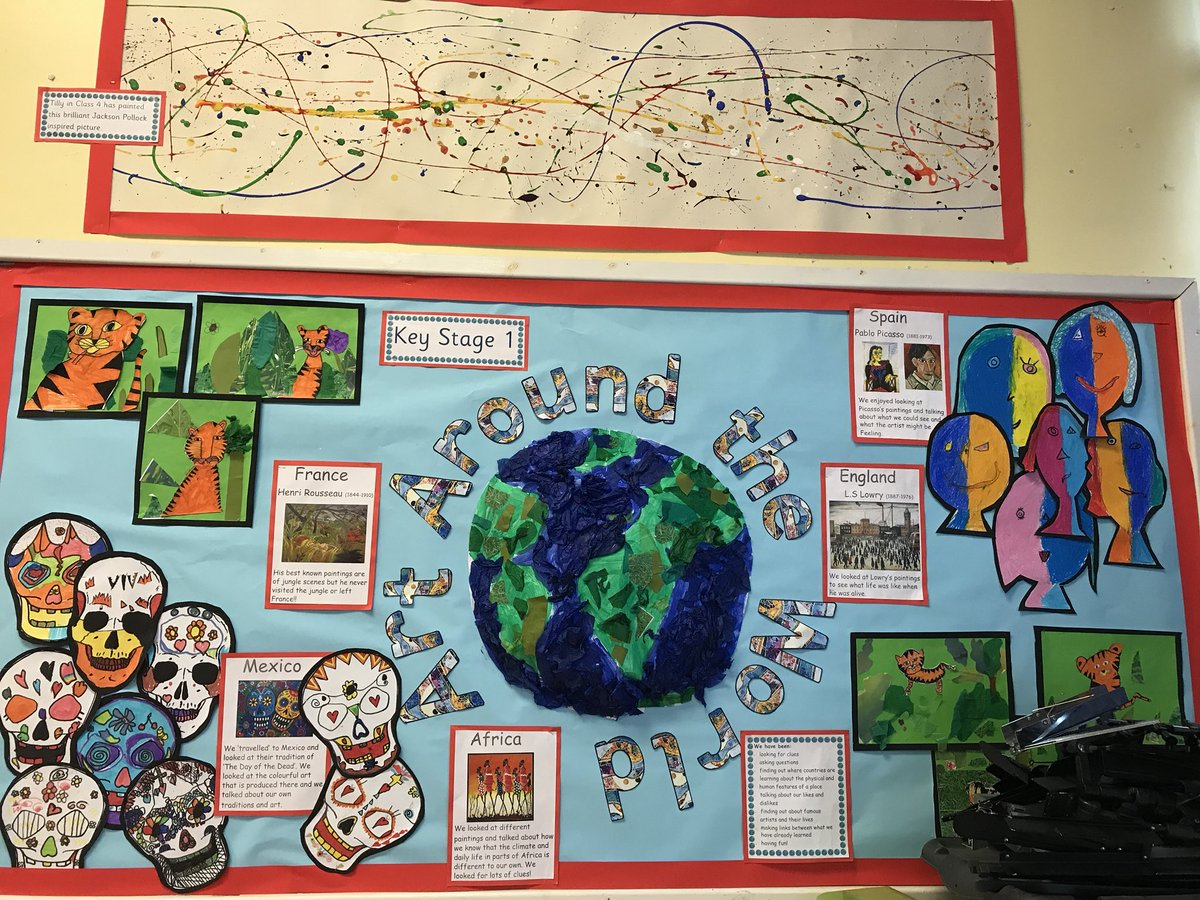 Broadway east first on twitter our ks1 art around the world broadway east first on twitter our ks1 art around the world focus has given the children so many learning opportunities and they have loved it gumiabroncs Gallery