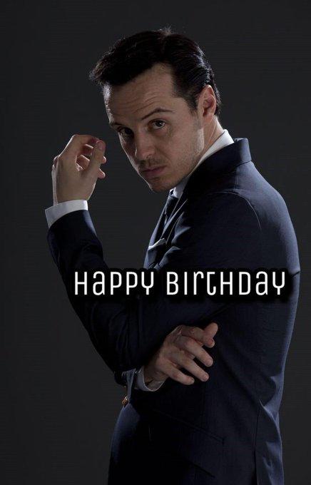 Happy Birthday Moriarty, Andrew Scott