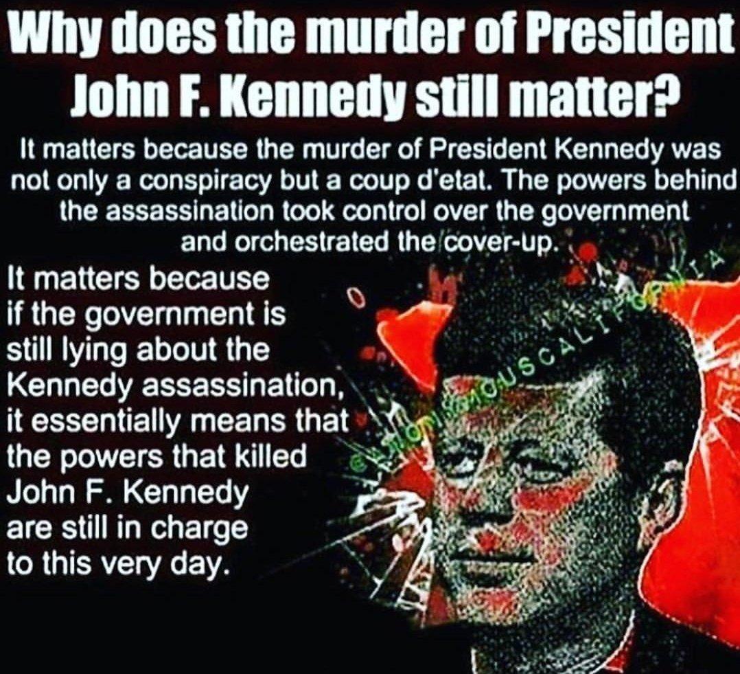 #JFK #JFKfiles #JFKlibrary #assassination #government #coverup #Secret #society #shadow #force #system #failure  #illuminati Think deeper..<br>http://pic.twitter.com/egTZspH5aZ