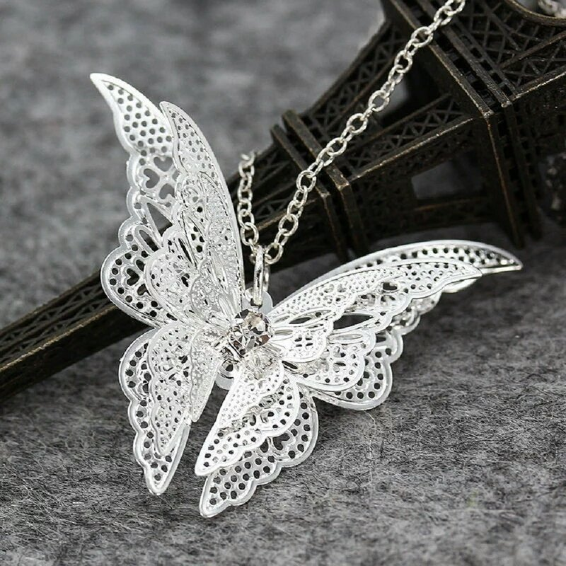 #Silver Plated #Butterfly #Pendant Necklace  http:// ebay.co.uk/itm/1626735235 69 &nbsp; …  #UkWeekendHour #FlockBN #londonislovinit #UkBiz #socialmedia #BritHour<br>http://pic.twitter.com/uNgPwmS7oo