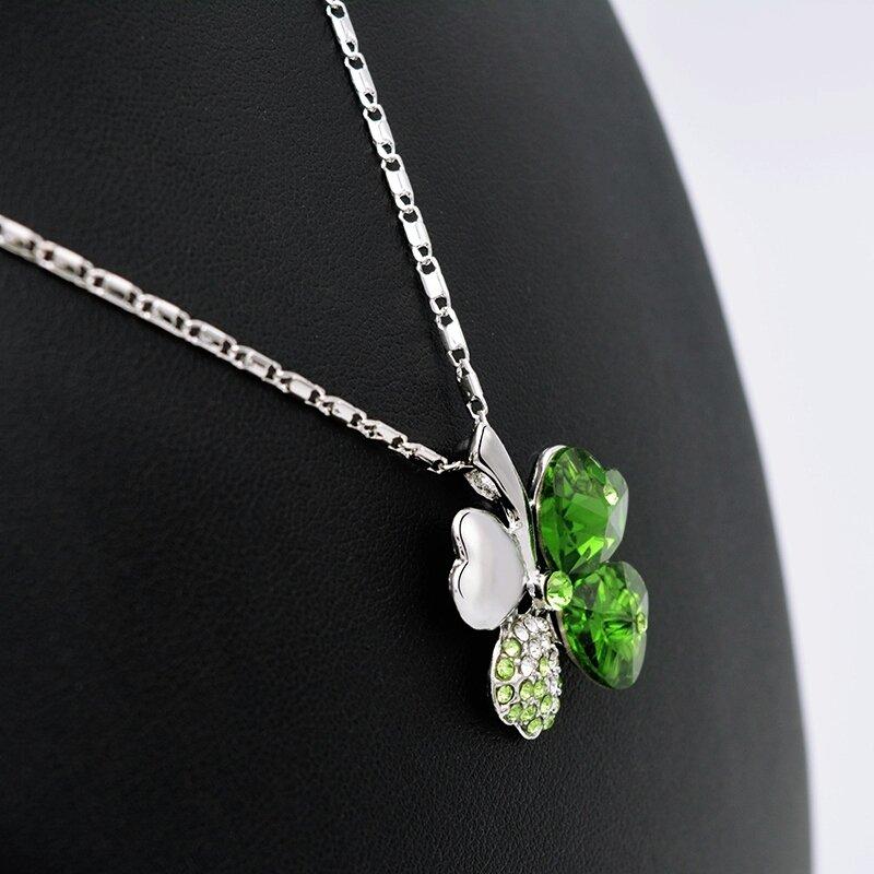 18k White Gold Plated Four Leaf Clover Pendant Chain  http:// ebay.co.uk/itm/1624417909 05 &nbsp; …  #UkBiz #londonislovinit #UkBizLunch #UKBusinessLunch #spdc<br>http://pic.twitter.com/e07aWjrQiS