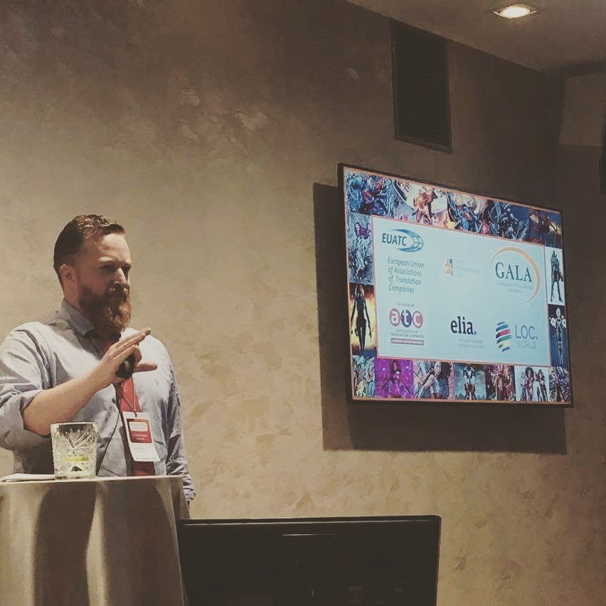 #AETCconf Andrew Hickson of  @LoveLudejo speaks at the Annual Conference in #Tallinn <br>http://pic.twitter.com/r4oWmZ1lhS