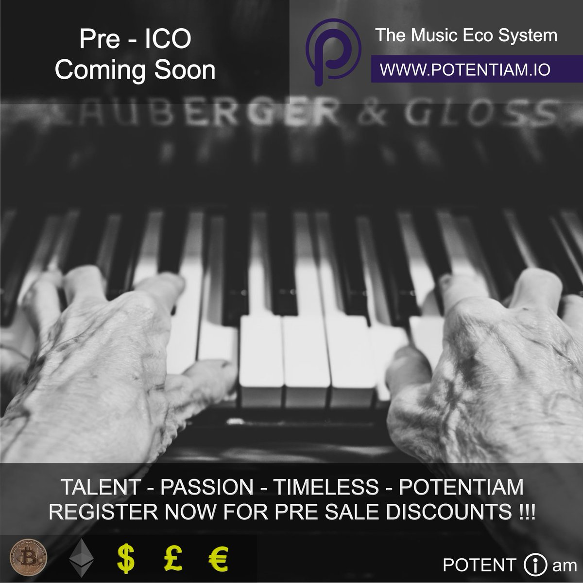 .@Potentiam_io re-inventing the #music supply chain! Visit to find out how #crowdfunding #startup #tokens #blockchain<br>http://pic.twitter.com/FZQKTagPte