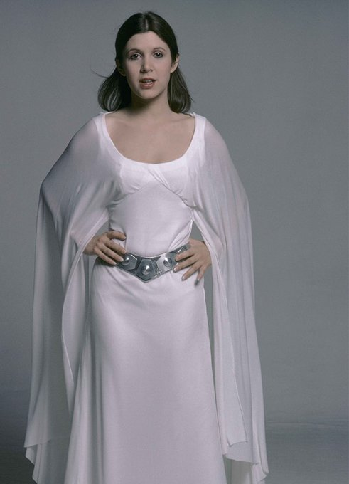 in what would ve been Carrie Fisher s 61st birthday, wanted to wish our fair princess a happy birthday