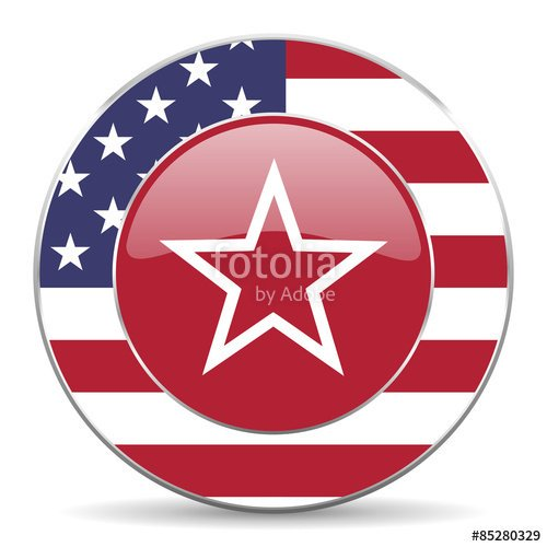 American flag web icon. #webdesign #GraphicDesign #USA #America #American #US #Patriots #sings #symbols #icons  https:// us.fotolia.com/id/85280329  &nbsp;  <br>http://pic.twitter.com/8xI7WdxJAI