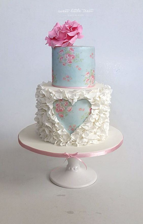 Свадебные торты трехъярусные
