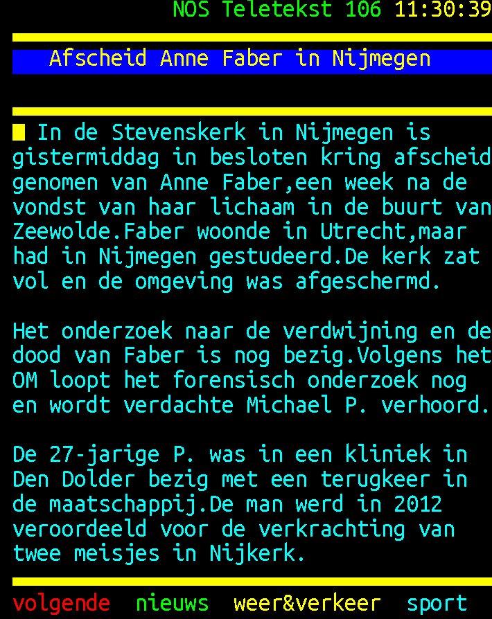 #Brigit-news: GISTEREN IS IN ALLE BESLOT...