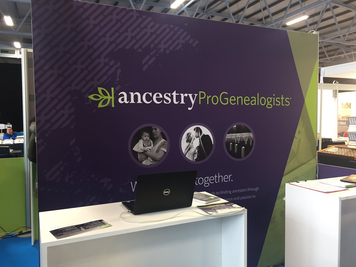 I&#39;m at @BTOPShow again today giving advice on British research with @Ancestry @ProGenealogists #genealogy <br>http://pic.twitter.com/gNEHwDsgfa