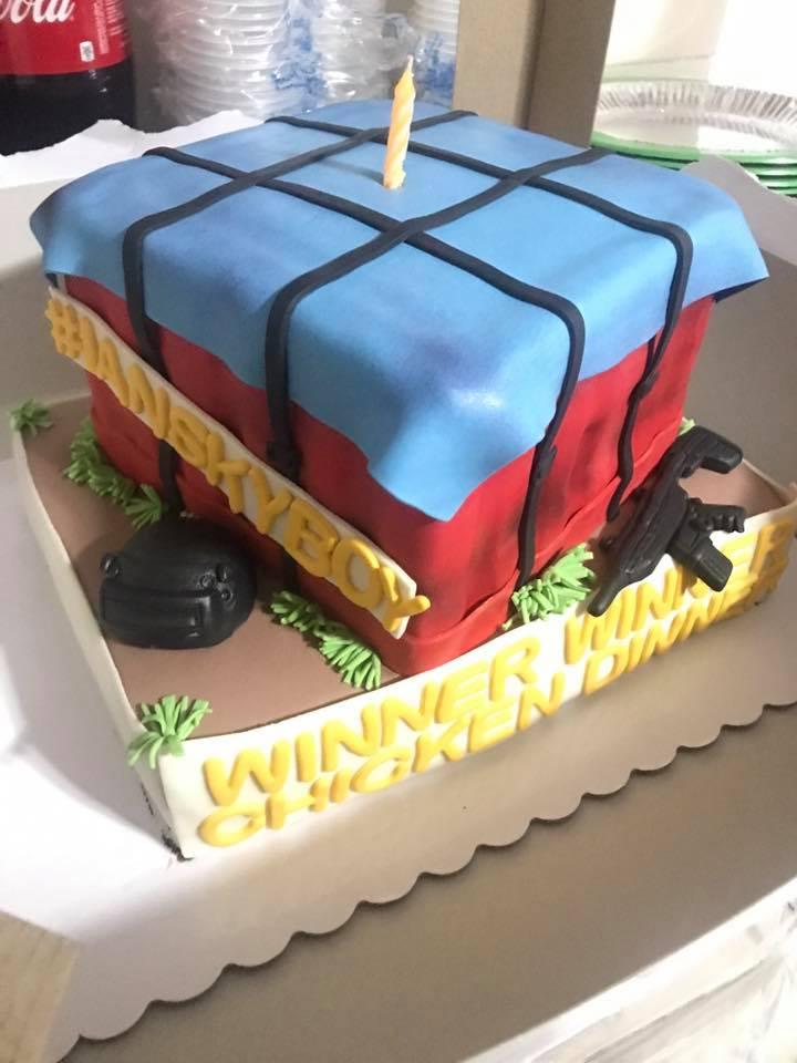 Pubg Philippines On Twitter Pubg Cake Crate Cake Credits Ian