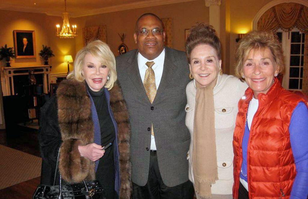 Happy birthday to Joan's great friend, Judge Judy! https://t.co/HTAhrXFgeh