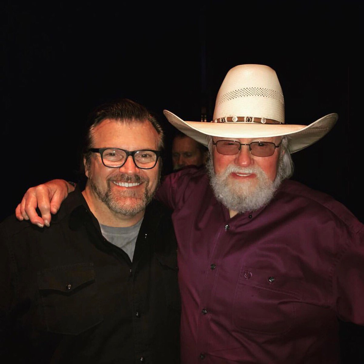 REPOST: @russlee | Honored to play with NewSong at a benefit with Charlie Daniels for the Waltrip Foundation! #nascar #MRO <br>http://pic.twitter.com/fgsDjYvuIR
