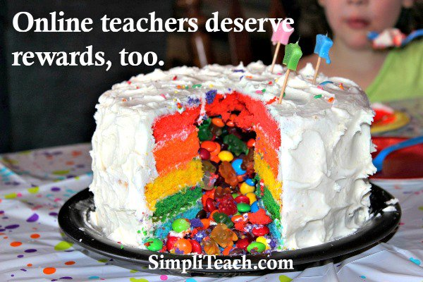 Yes, your #students need encouragement and rewards. Newsflash! So do online #teachers!<br>http://pic.twitter.com/FqazQderC3