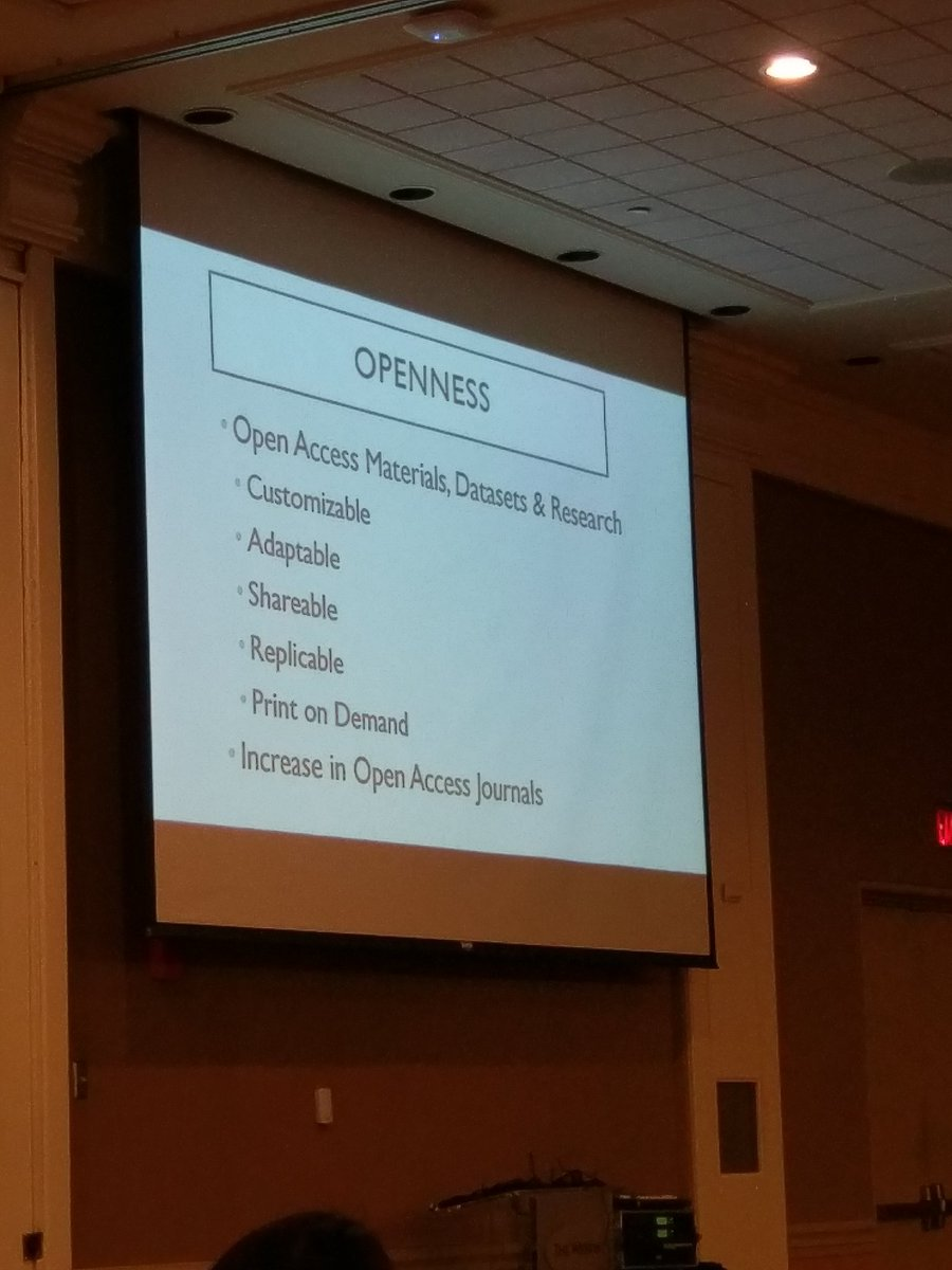 Greg Kessler highlights the power of #sharing and #openness in research + teaching.He&#39;s involved in #oa many projects #oer #atesl17 #uleth<br>http://pic.twitter.com/Jdk0WCmhmq