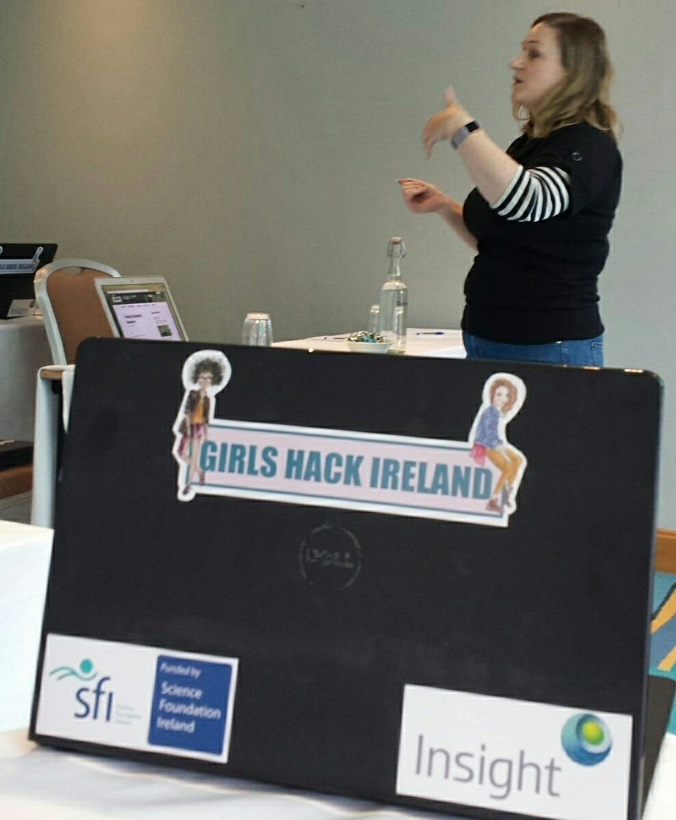 Wrapping up the @GirlsHackIRL Training i...
