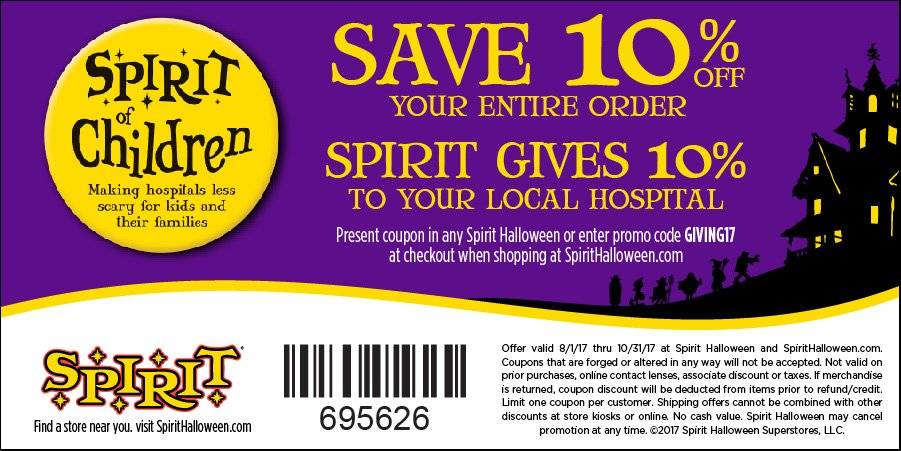 hamilton health sciences foundation on twitter get in the spirit show this coupon to employees at the brantford spirithalloween to get a discount