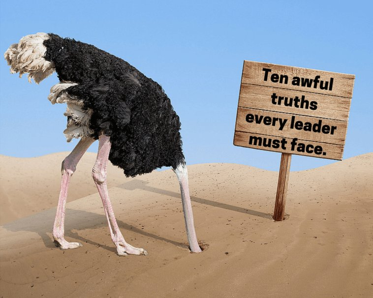 10 awful truths every leader needs to know: https://t.co/3o6dPPL0yX #leadership #strategy https://t.co/GCOl0plAIx