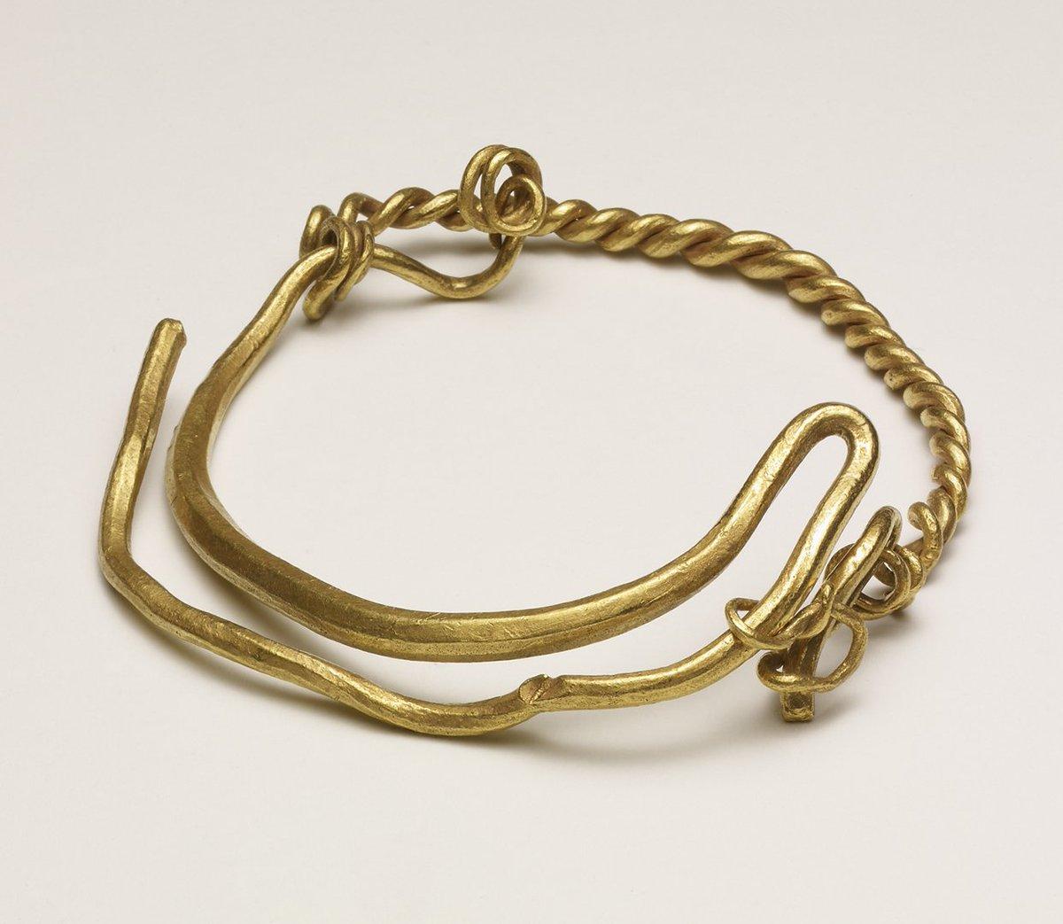 British Museum On Twitter Viking Arm Rings Were Presented As