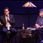With Stephen Colbert, Rob Reiner, Rosario Dawson and Graham Nash on stage in my Broadway show. A beautiful run - and just 2 days left!