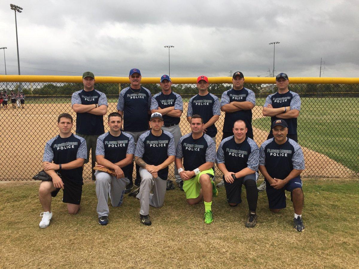 """Officer LoBello on Twitter: """"Flower Mound PD softball team for the Battle of Badges softball tournament @FlowerMoundPD… """""""