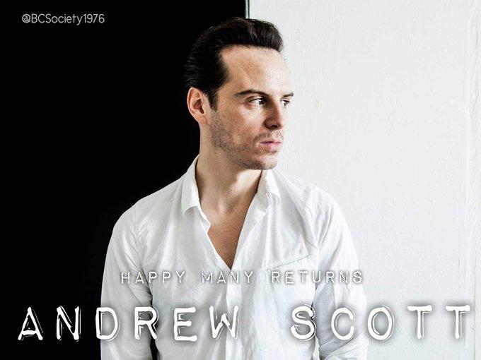Happy Birthday to Andrew Scott!  Fabulous, gorgeous as always