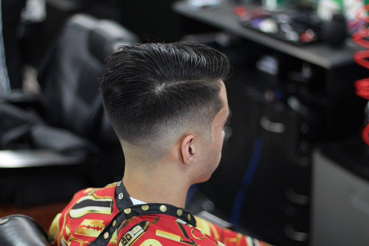 Yoshi On Twitter Midfade Tape Sharp Barber Haircut