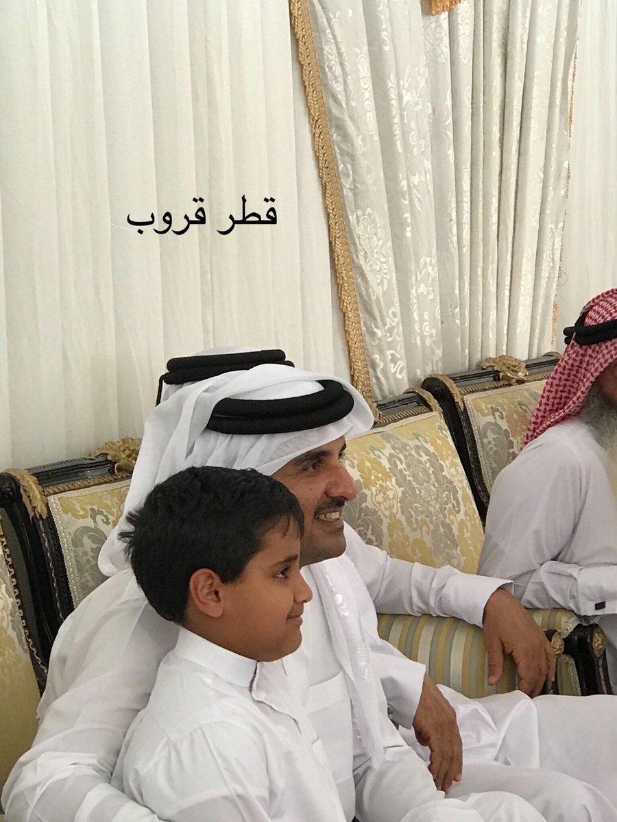 سمو الامير حفظة الله في عزاء الفقيد سعد...