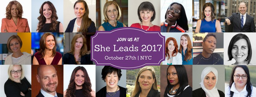 Get actionable advice from incredible experts &amp; Save $50. She Leads 2017 NYC on Oct 27th #Entrepreneurs #Leaders  https://www. eventbrite.com/e/she-leads-20 17-tickets-30701314458?discount=SAVE50 &nbsp; … <br>http://pic.twitter.com/Kgp85YOfxU