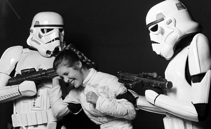 Happy Birthday Carrie Fisher