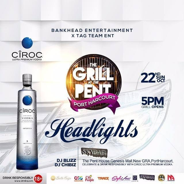2 Days To Go!! The HEADLIGHTS!  This Sun 22nd Oct! #Headlights #Gatp_Phcity #TagTeamParties #BankHeadParties #CirocLifeNgr #WeOwnSundays<br>http://pic.twitter.com/hEDgbOnWwz