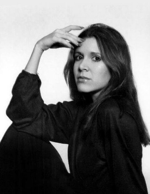 Happy birthday to the one and only - Carrie Fisher. I love you and I miss you so much, space mom.