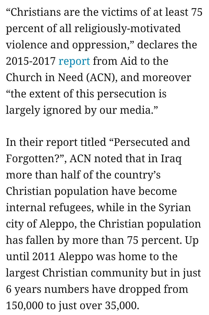 /\ #UnderAttack &gt; #Christians are the most persecuted for religious beliefs    #genocide #christianophobia #oppression #refugees<br>http://pic.twitter.com/5MFCqVGwnz