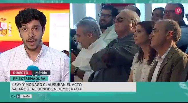 PP y PSOE han mostrado su apoyo a las medidas anunciadas hoy por Rajoy. @ALevySoler lo ha hecho desde #Mérida, @sanchezcastejon en #Murcia. https://t.co/lA96eyeNg7