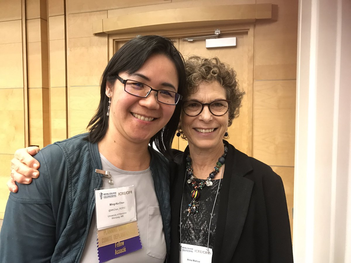 Congrats @MKChan_RCPSC for your  award  from  peads-chairs @Royal_College  @AnneMatlow  #leaders #modesty #values<br>http://pic.twitter.com/Y3Jk1Q3bQW