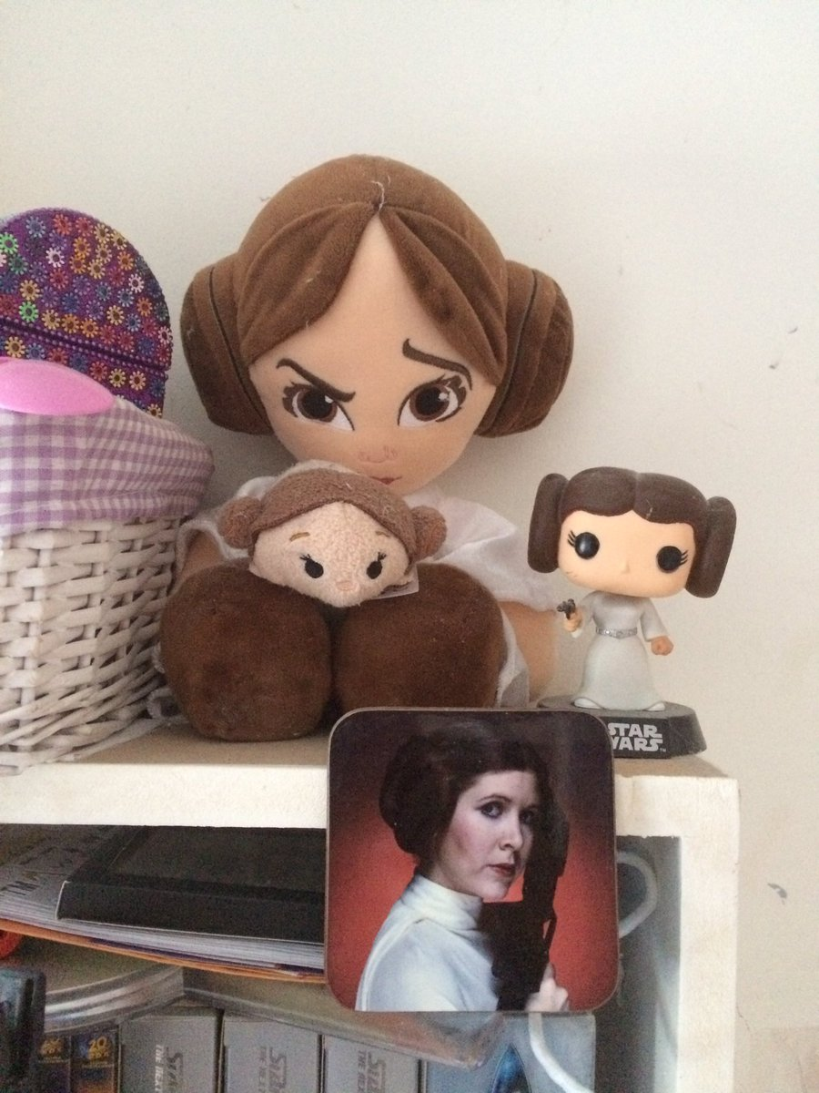 The force will be with you, always... #princessleia <br>http://pic.twitter.com/0aXjeBOusN