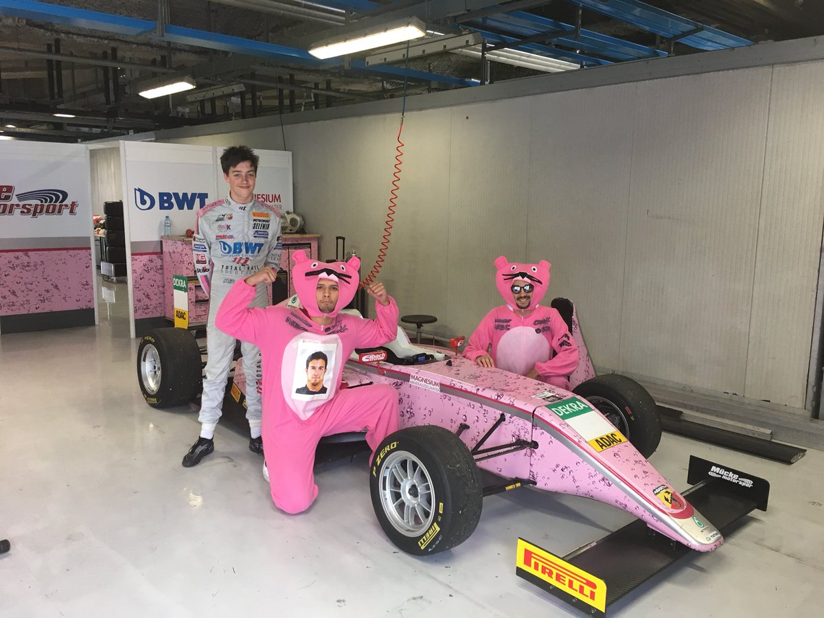 Here we are again ! Another Pinkpanther  #PinkPanthers #ForceIndia #monza #indomabili<br>http://pic.twitter.com/roVenbdZ7a