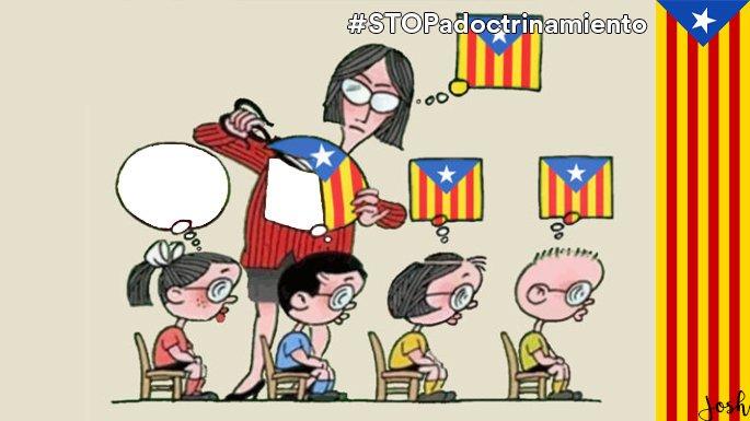 #STOPadoctrinamiento #CataluñaesEspaña h...