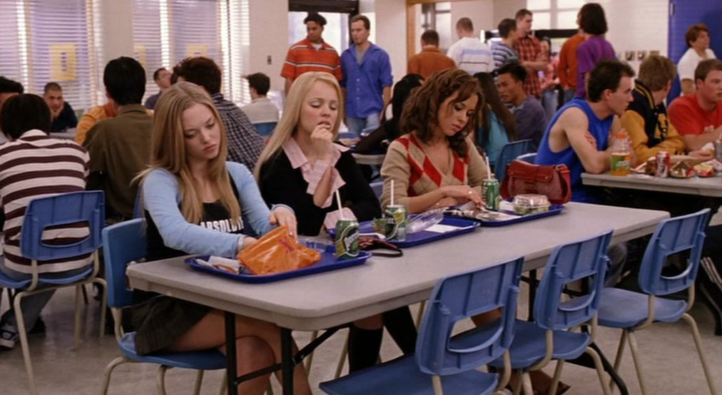 #TwitterIn4Words  A High School Cafeteri...